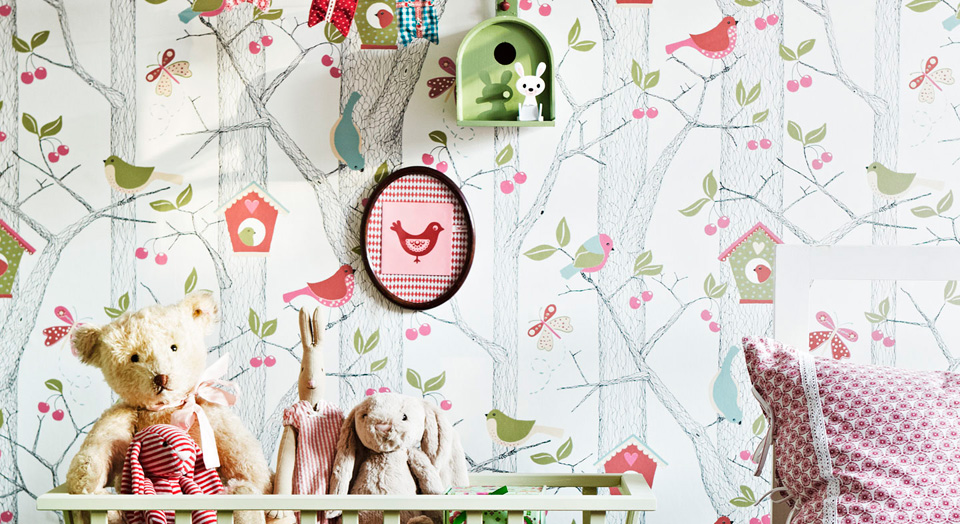 Lilleby is Boråstapeter's collection for kids' rooms | alvaluz.com