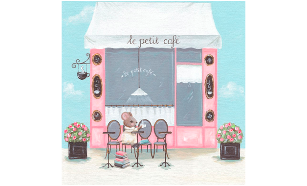 Little Petite Cafe (36x36 cm) $ 1,310.00 | alvaluz.com