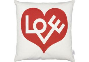 Graphic Print Pillows - Love   alvaluz.com