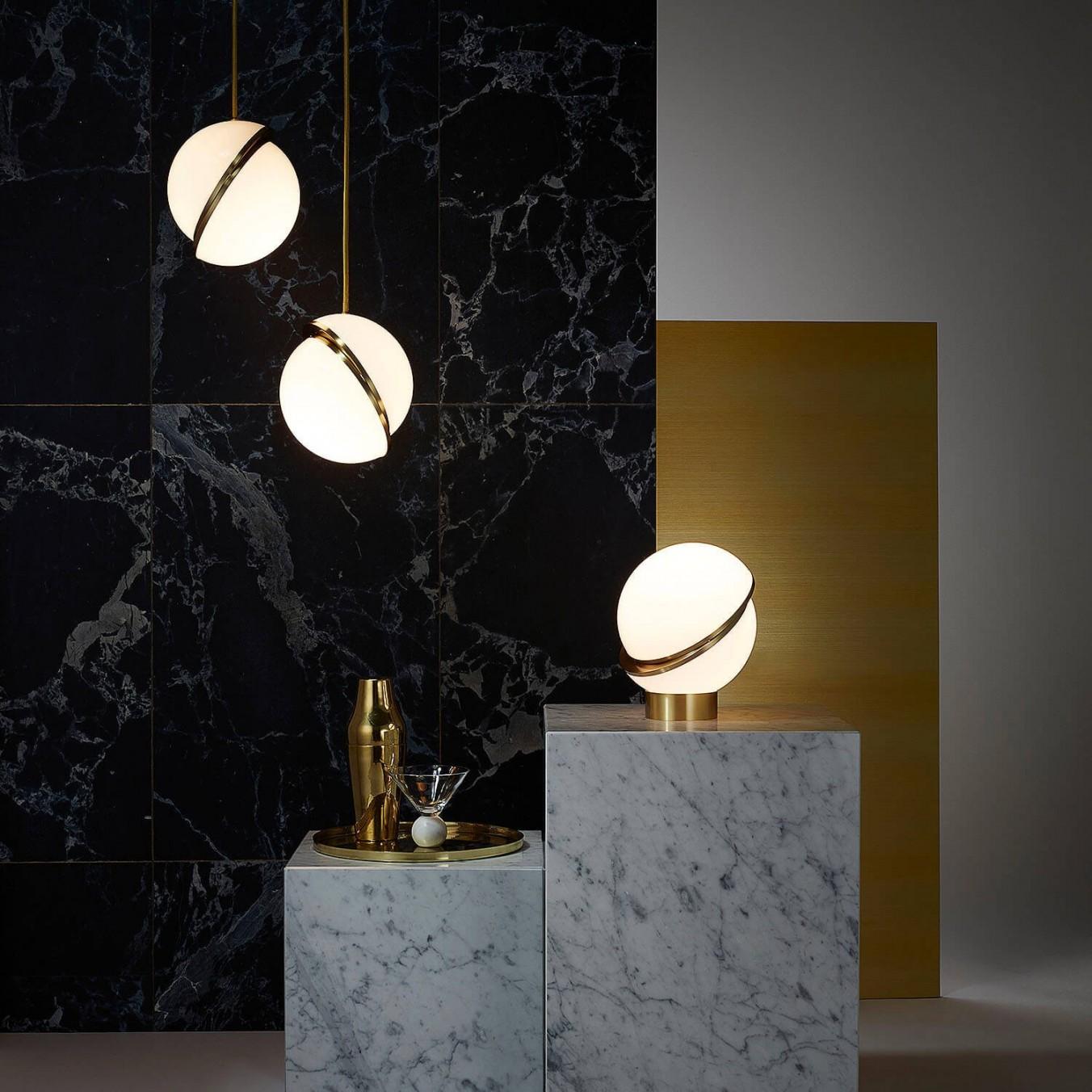 Mini Crescent Table Lamp | alvaluz.com