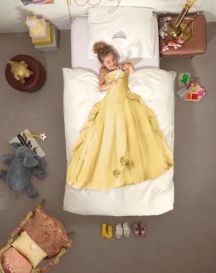 Princes yellow duvet cover | alvaluz.com
