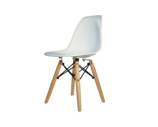 silla holly blanca para niños | alvaluz.com