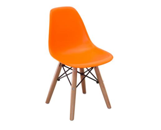 silla holly naranja para niños | alvaluz.com