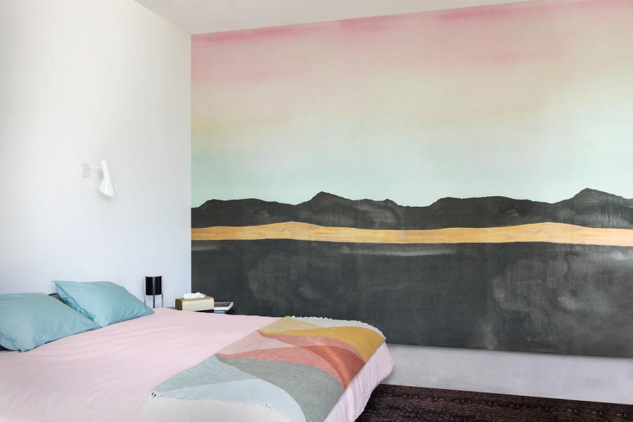 Papel tapiz en Guadalajara, colección Idylle de Casadeco | alvaluz.com