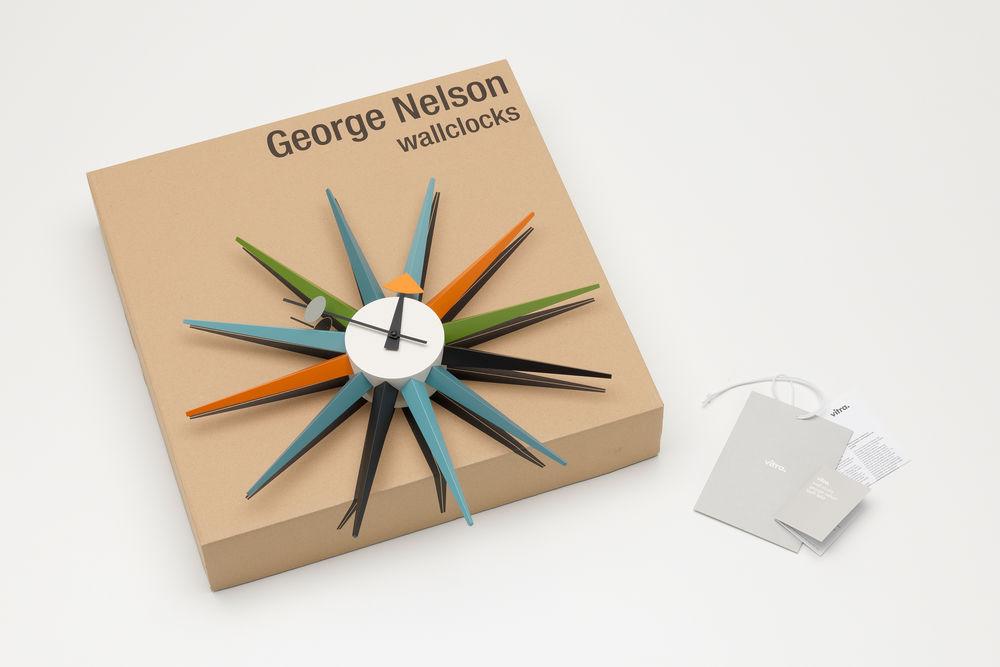 Vitra Sunburst Clock by George Nelson | alvaluz.com