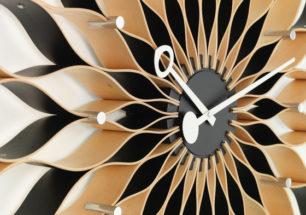 Sunflower clock - wall clock | alvaluz.com