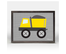 Ways to Wheel - little dump truck (18x14cm) | alvaluz.com