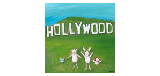 Were in Hollywood (Canvas 26x26cm) $ 1309.00 | alvaluz.com