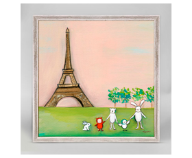 We're in Paris (15x15 cm) | alvaluz.com