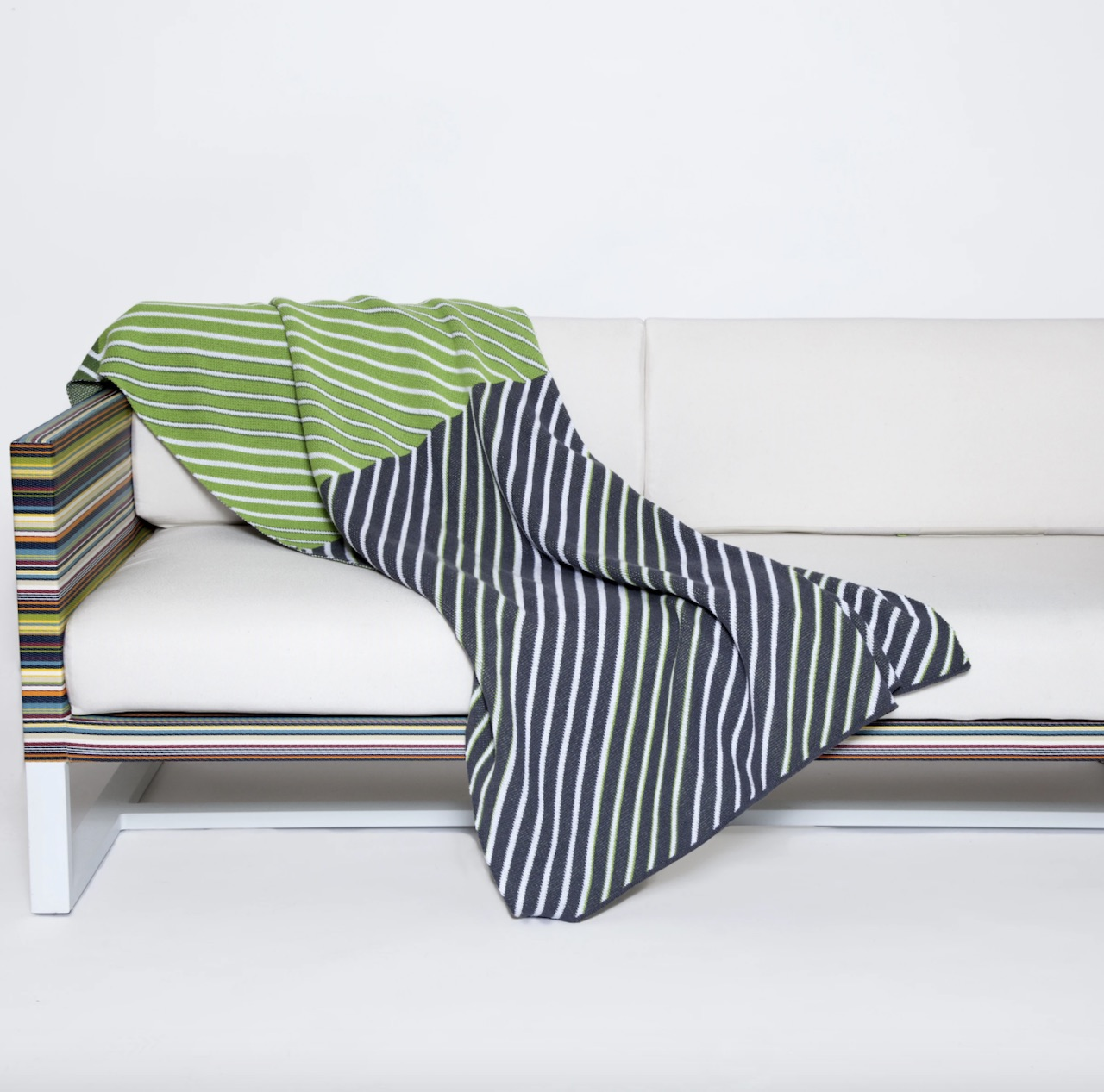 Cobija ecológica Zag by Kelly Harris Smith | alvaluz.com